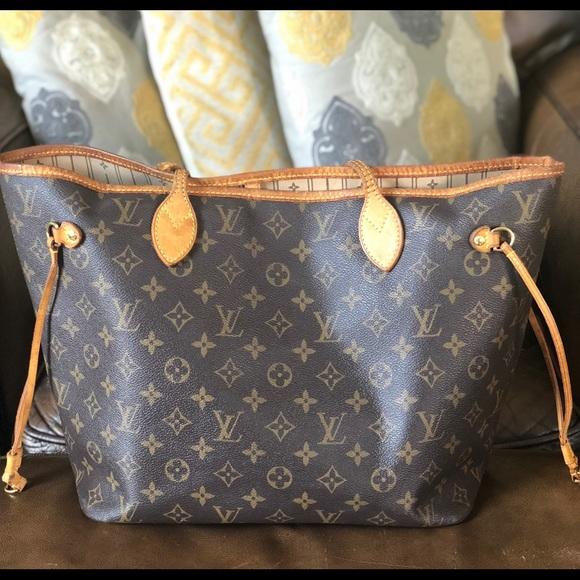 ab291f4d5681 Louis Vuitton Handbags - 😍Pre-Loved😍 AUTHENTIC Louis Vuitton Neverfull MM